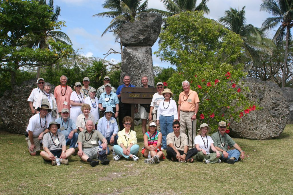 Iwo Jima Tour guests