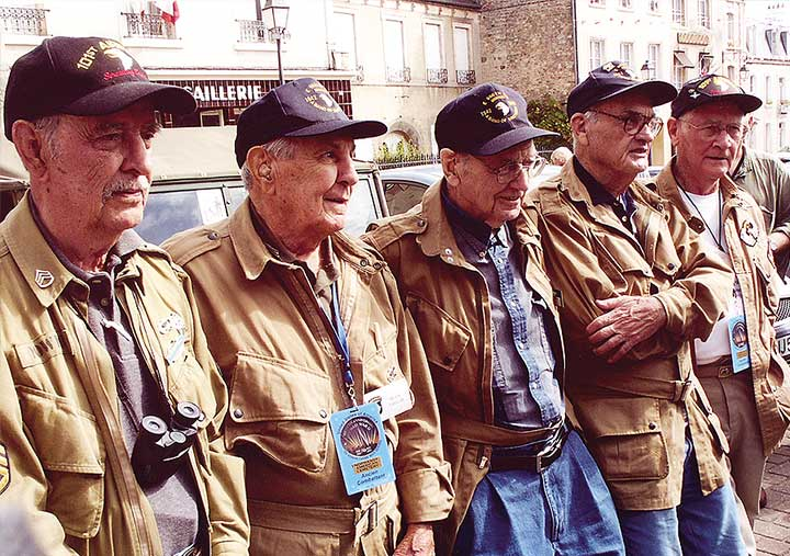 101st Airborne veterans in France