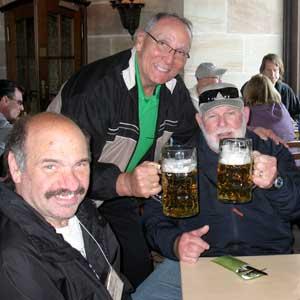 Historian Ron Drez with WWII tour participants