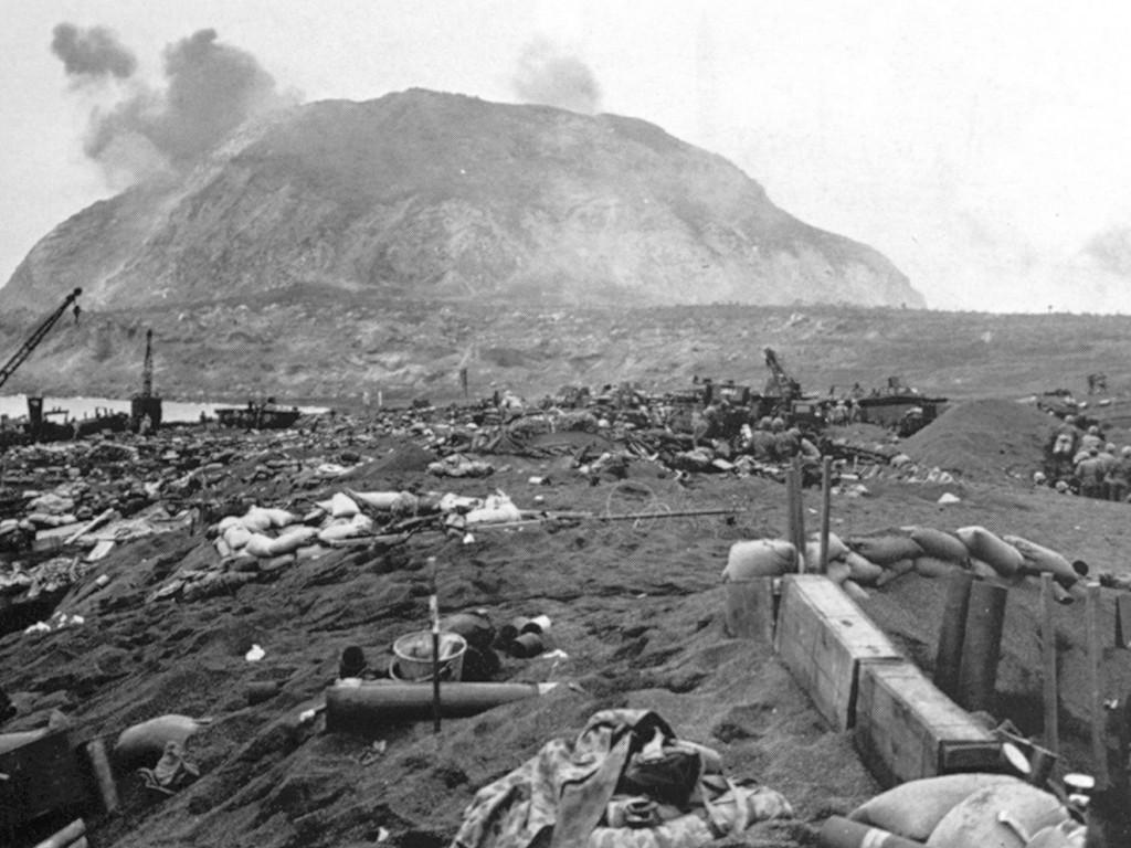 Iwo Jima Mt. Suribachi Day 10
