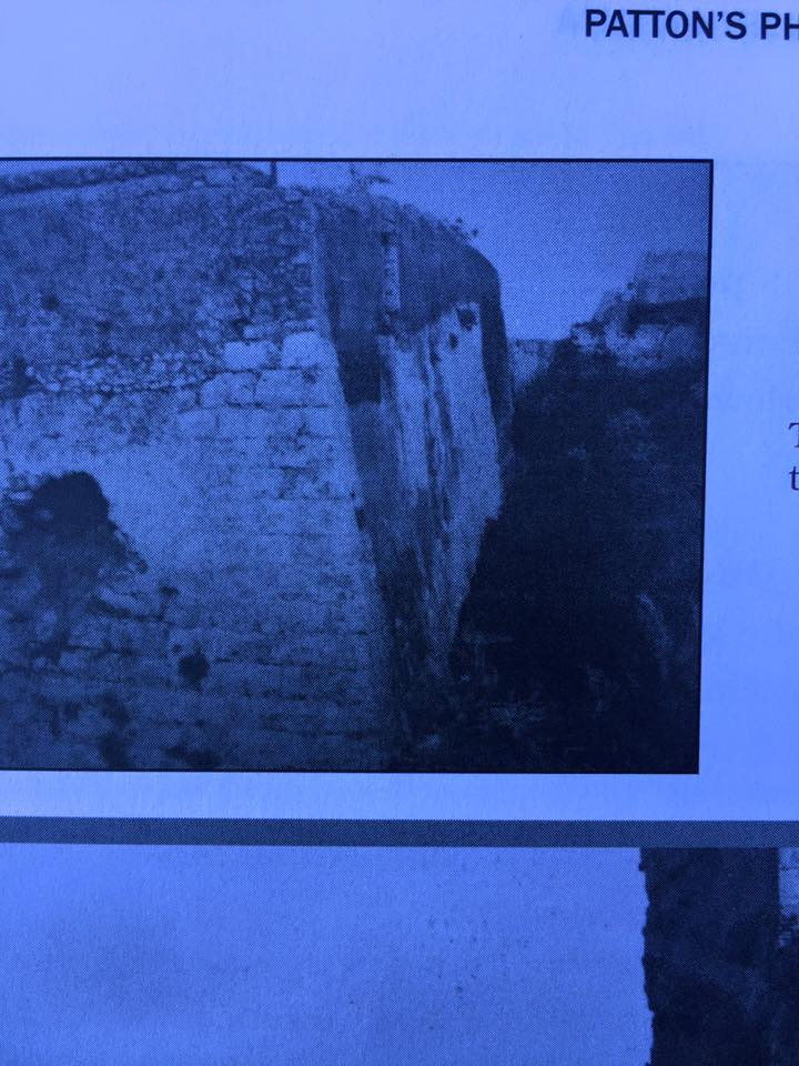 Outer walls of the Casbah during WWII