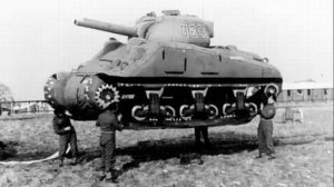 WWII Operation Fortitude dummy tank