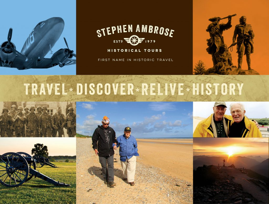 Stephen Ambrose Historical Tours display