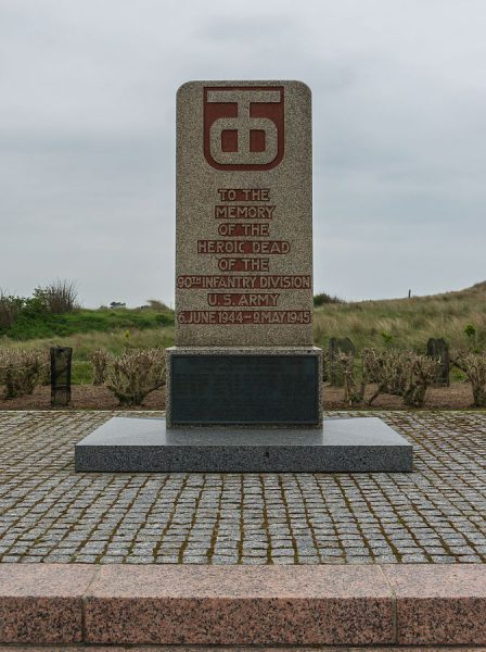 90th US Infantry Division Monument Utah Beach