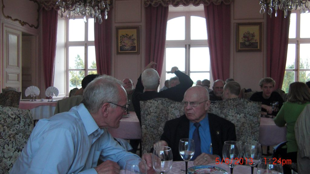 Herb Suerth Dinner in Quinville France