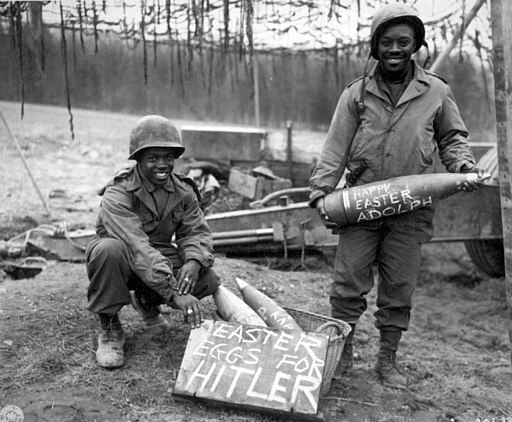 Easter eggs for Hitler bombs WWII