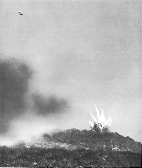 Bombing Fort Driant in WWII