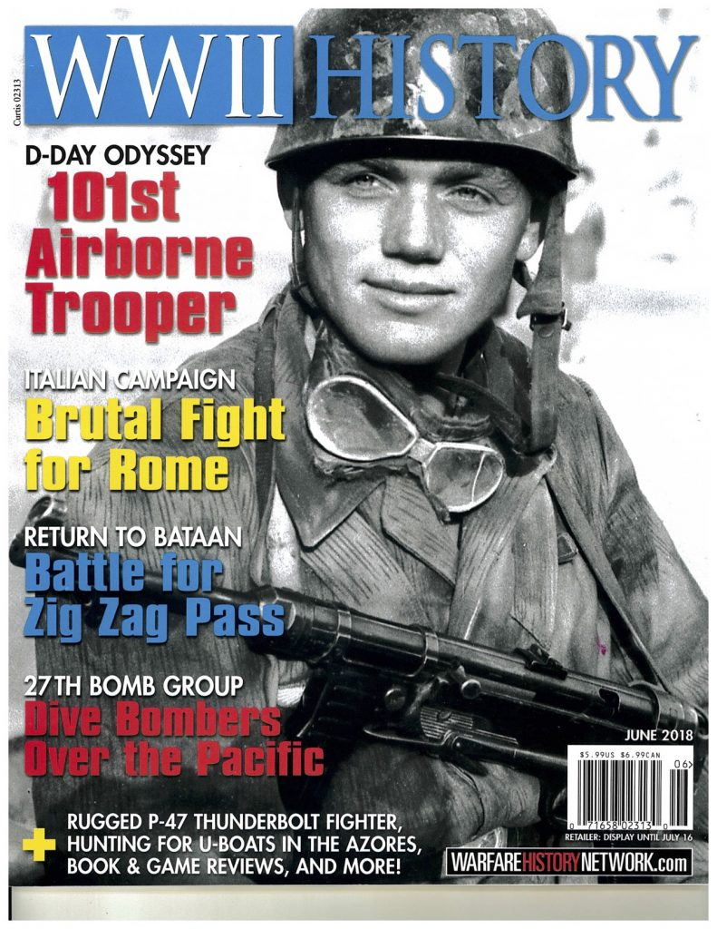 Norwood Thomas D-Day Paratrooper WWII History magazine cover