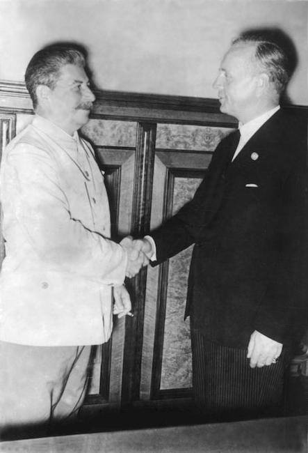 Stalin Ribbentrop 1939