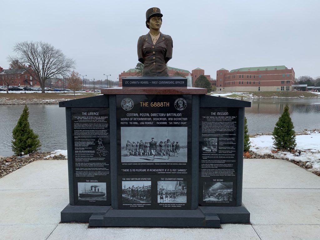 6888th Central Postal Directory Battalion monument