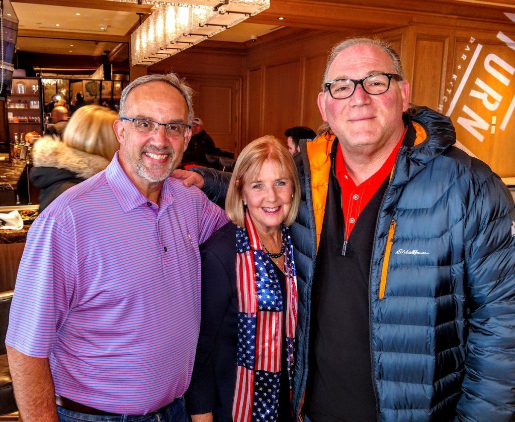 George and Susan Luz with Ivan Schwarz