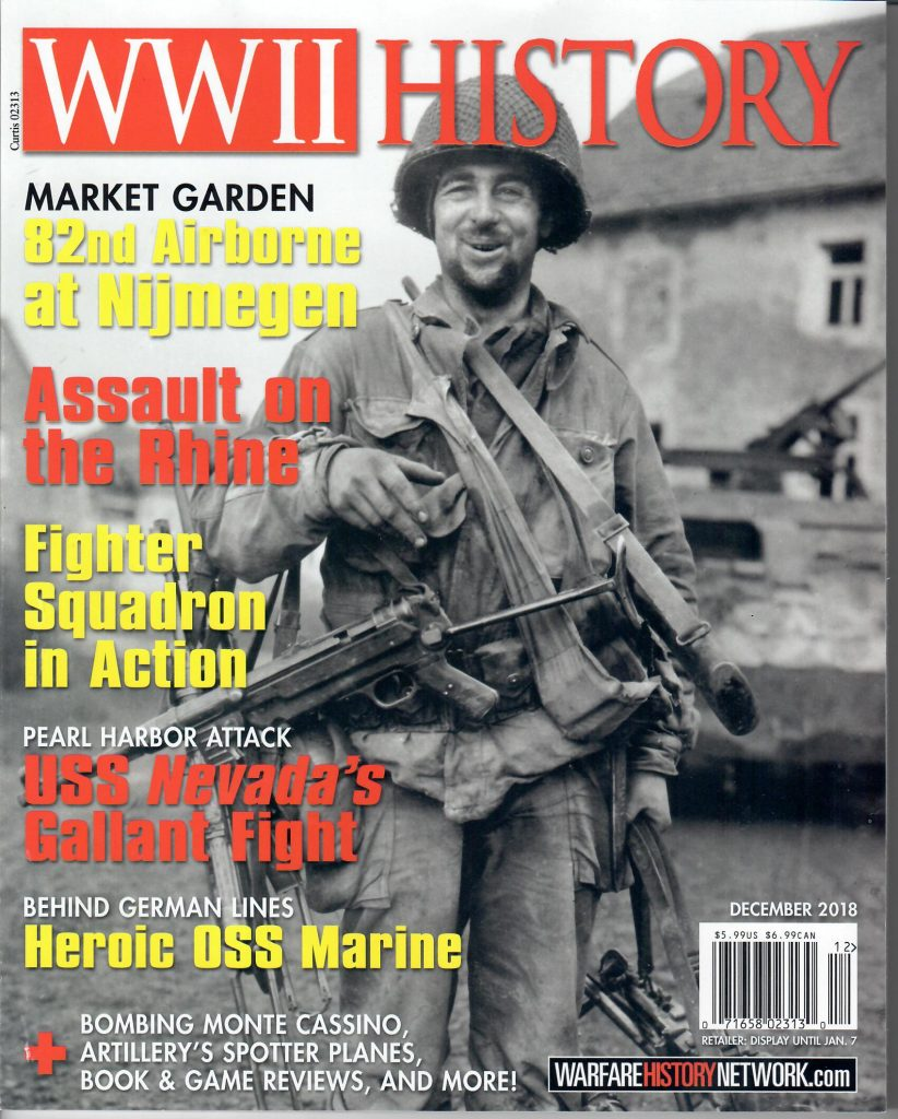 WWII History magazine DEC 2018