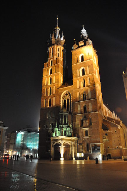 St. Anne church in Krakow, Poland