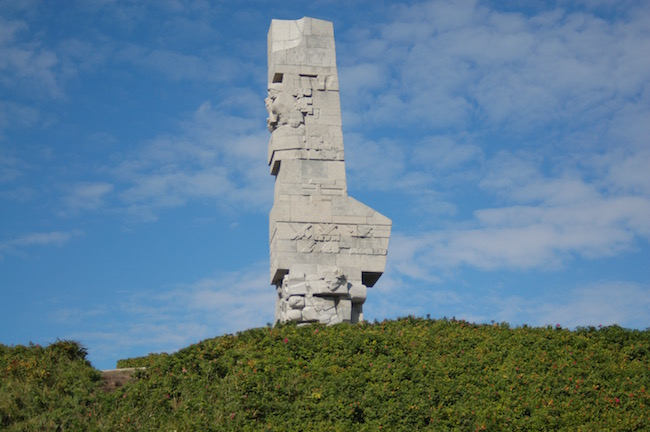 Monument to the Heroes of Westerplatte in Gdansk, Poland