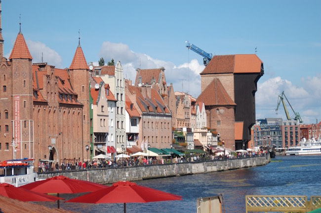 Old Gdansk waterfront