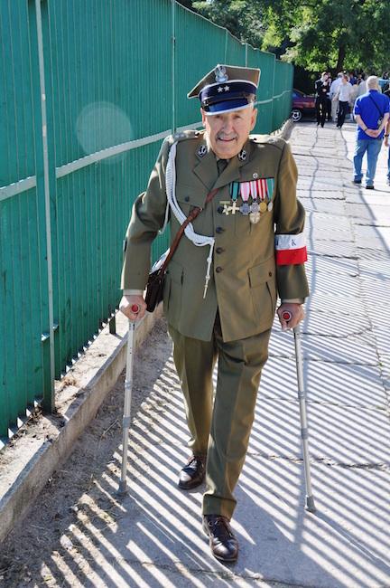 Polish WWII veteran