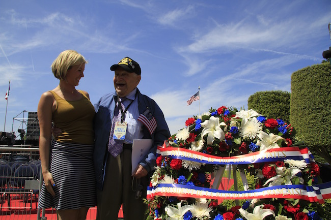 WWII veteran at 75th Anniversary of D-Day