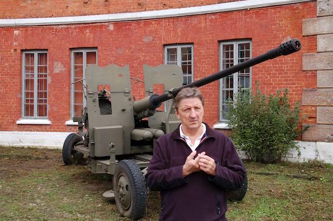 Historian Mark Bielski at Modlin
