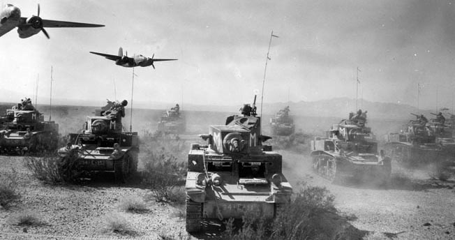Patton's tanks WWII