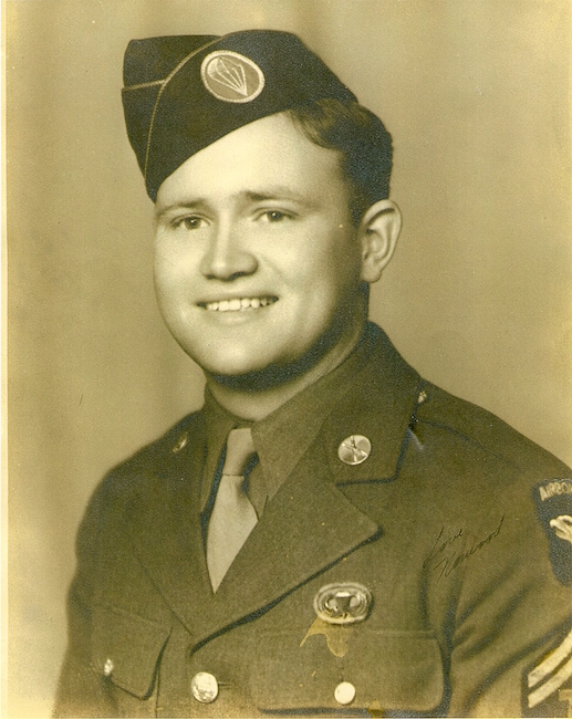 Norwood Thomas WWII paratrooper
