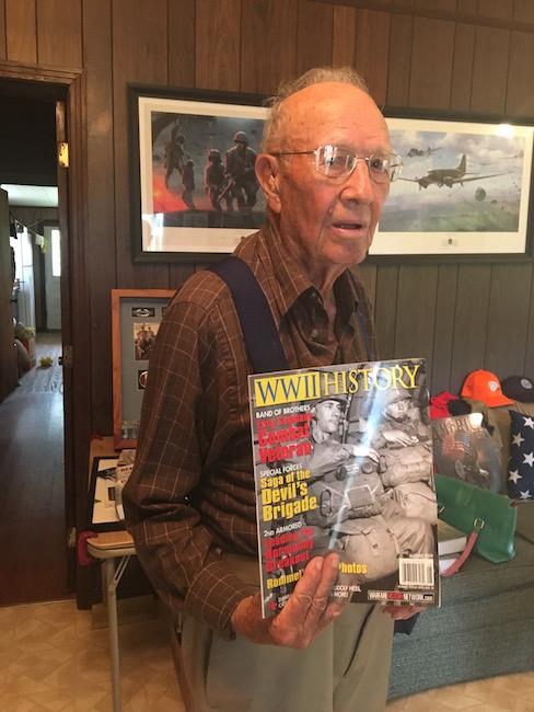 Easy Company member Brad Freeman