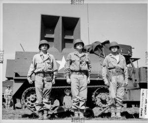 Ghost Army battalion tank