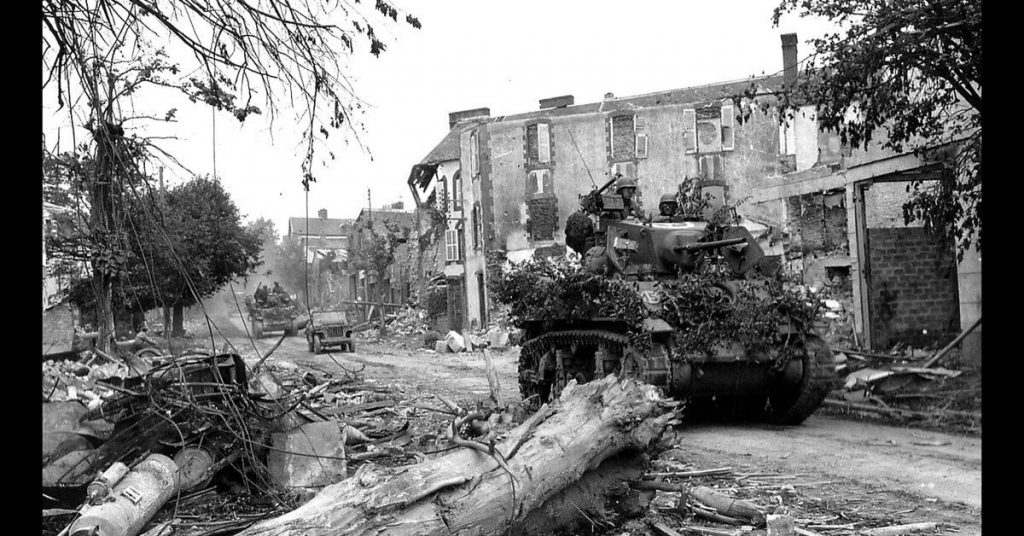 Operation Cobra tank