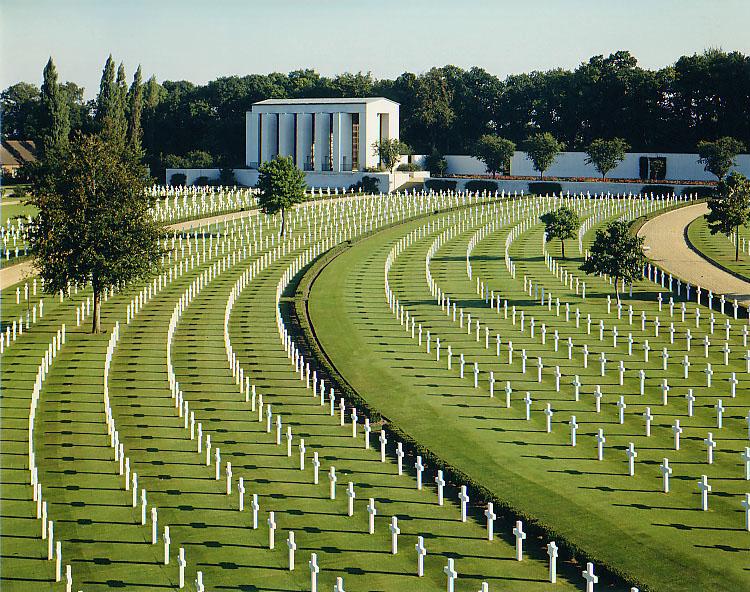Cambridge American Cemetery and Memorial.
