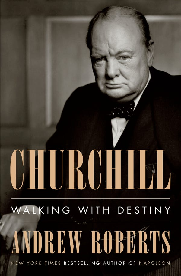 Churchill Walking With Destiny book cover