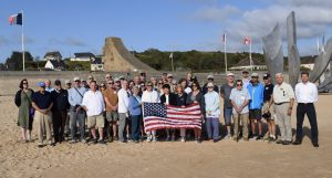 D-Day tour group