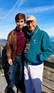 D-Day tour guest and WWII veteran