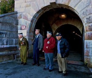 WWII veterans on D-Day tour
