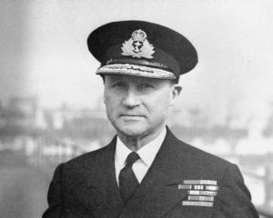 Royal Navy Vice Admiral Bertram Ramsay