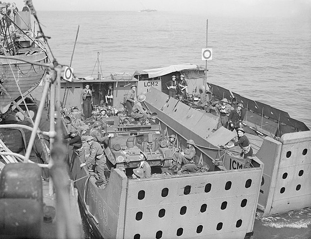 Royal Navy during Dieppe raid
