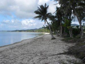 Landing beach on Saipan
