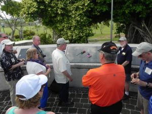 War in the Pacific tour group