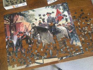 Civil War jigsaw puzzle