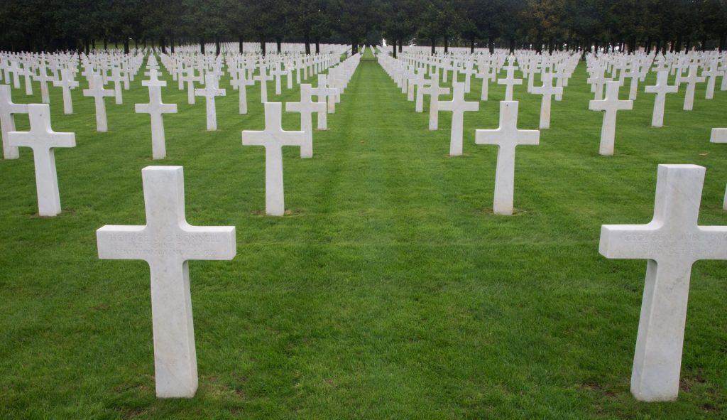 Crosses at Meuse Argonne American Cemetery