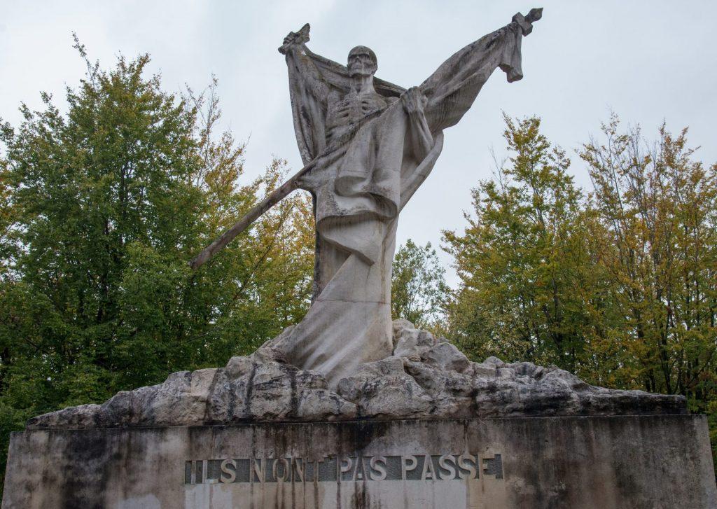 WWI monument at Verdun