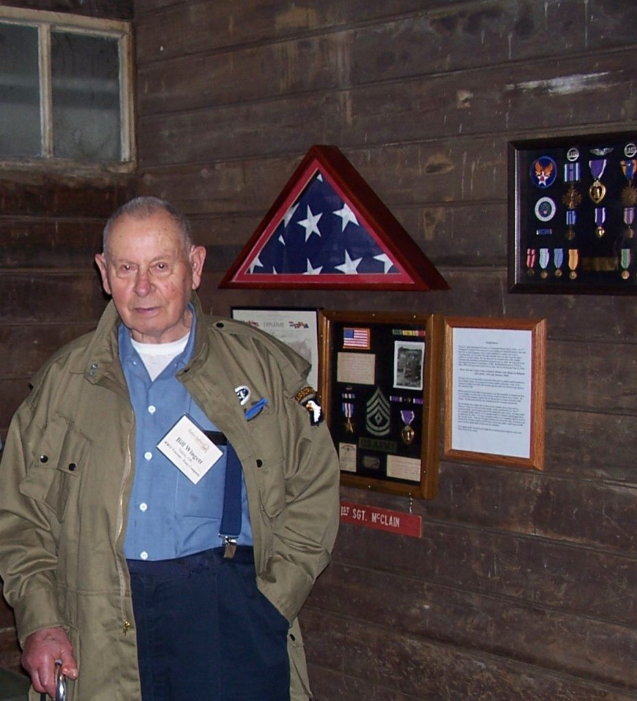 Bill Wingett Easy Company veteran