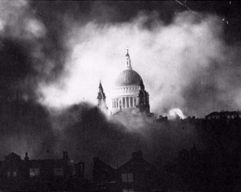St. Paul's Cathedral WWII