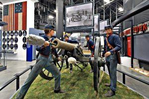 National Museum of US Army Civil War display