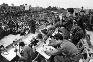 Glenn Miller band WWII