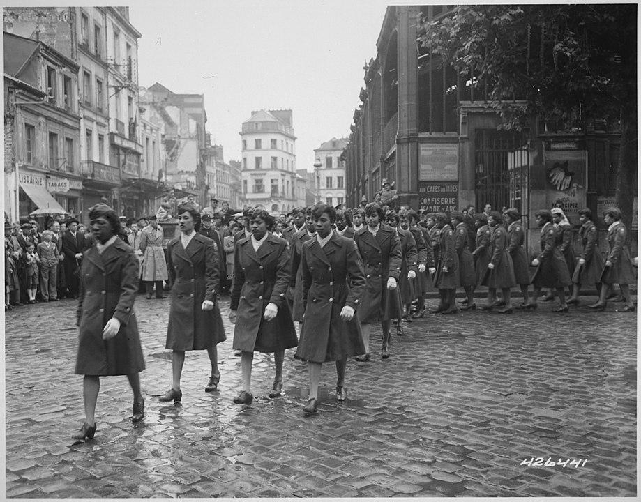 6888th Battalion parade