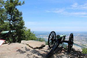 Civil War cannon at Chickamauga