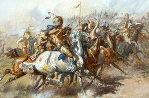 Crazy Horse battle scene