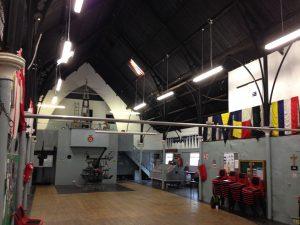 Inside the Tin Tabernacle in Kilburn