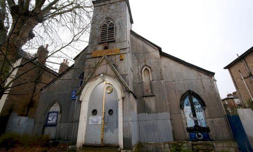 Tin Tabernacle in Kilburn