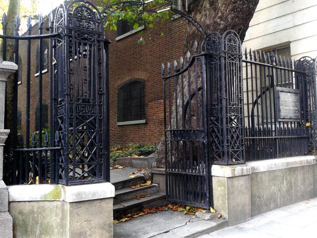 Entrance to Postman's Park